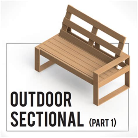 outdoor loveseat plans free diy outdoor sofa plans gray house studio