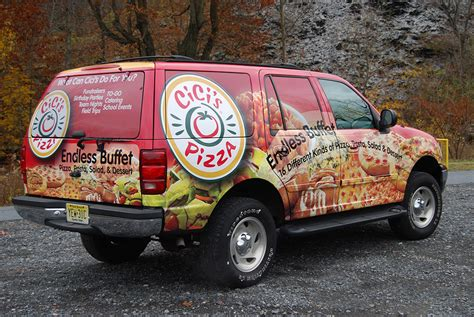 Pizza Auto by Pizza Vehicle Wrap