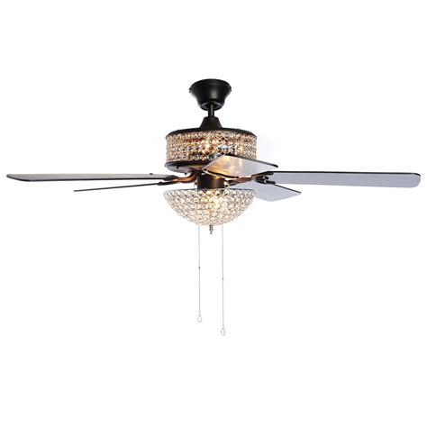 ceiling fans with crystals high quality ceiling fan 8 home style lit