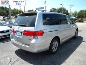 Used Car Price List Usa For Sale 2010 Passenger Car Honda Odyssey Touring