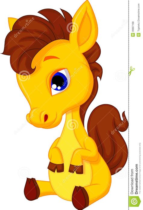 cute cartoon baby pony cute cartoon baby pony