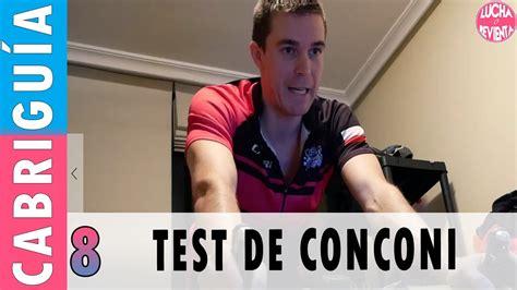 test conconi ciclismo test de conconi y umbral anaer 211 bico en ciclismo