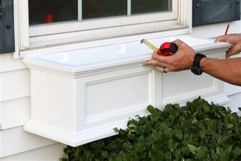 installing window boxes install a window box gardening ideas