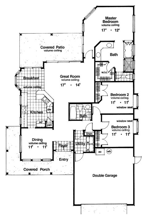 house plans for a narrow lot cottage house plans