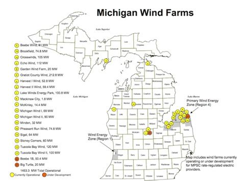 wind farms in map as michigan wind farms expand protests increase great