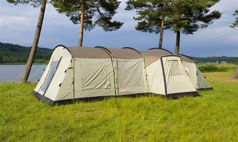 Coleman Cabin by Coleman Mackenzie Cabin 6 Berth Xl Family Tent Pack Buy