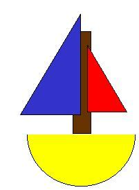 boat shapes craft crafts for preschoolers shape sailboat bgmc alternative
