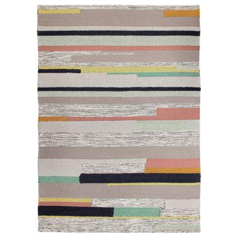 teppiche 170x240 br 214 nden rug low pile handmade multicolour 170x240 cm ikea