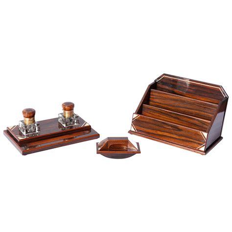 deco desk set macassar deco desk set fin de si 232 cles et plus