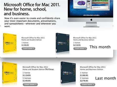 microsoft raises prices on microsoft office for mac no