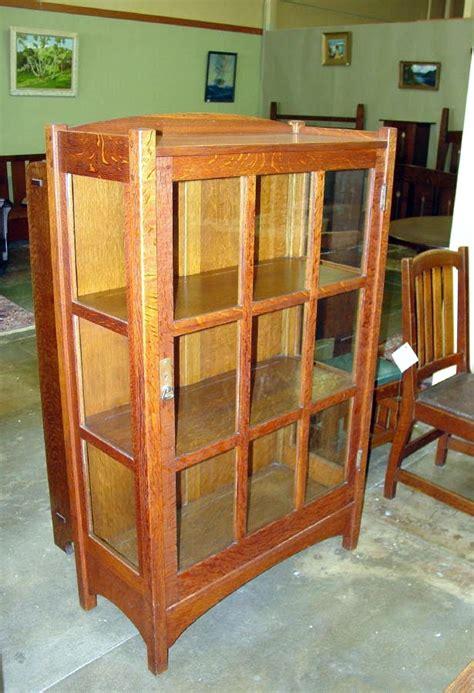 Roycroft Bookcase Voorhees Craftsman Mission Oak Furniture Vintage L Amp J