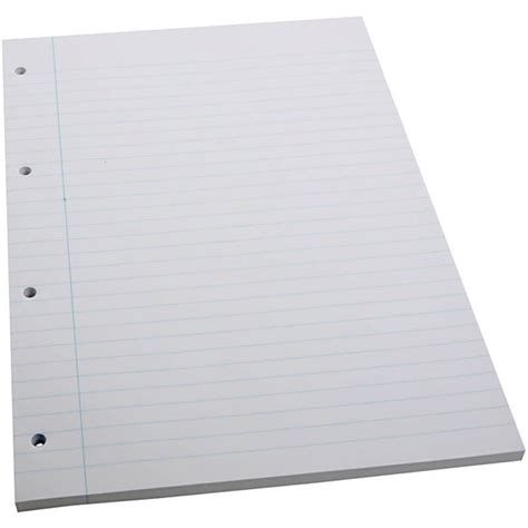 Craft Paper Pads - a4 x 100 sheets lined ruled line notes 4 paper school