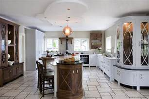 Designs Kitchen Beautiful Kitchen Design With Marble And Natural Wood