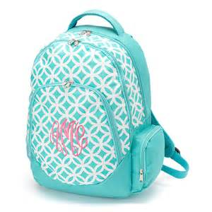 monogrammed backpack and lunchbox by sassypantsembroidery