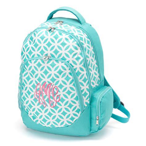 monogrammed backpack  lunchbox  sassypantsembroidery