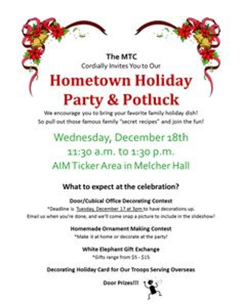 christmas potluck email invitation excellent potluck invitations office theruntime