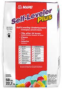 self leveling underlayments