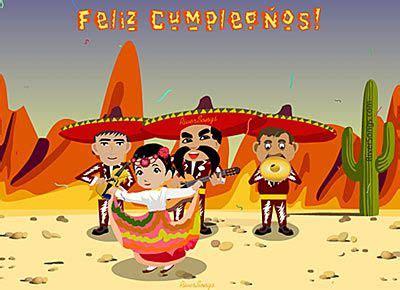 imagenes de feliz cumpleaños con mariachis 18 best images about felicitaciones de cumplea 241 os feliz