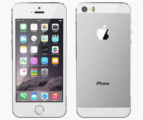 Apple Iphone 5s Silver Iphone 5s E iphone 5s color silver