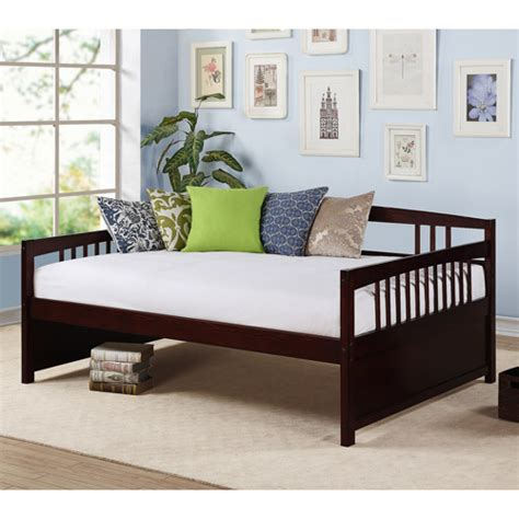 full day beds morgan full daybed espresso walmart com