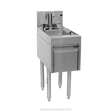 Glt Plumbing by Glastender Dhsb 12 Underbar Sink Unit Floor Model