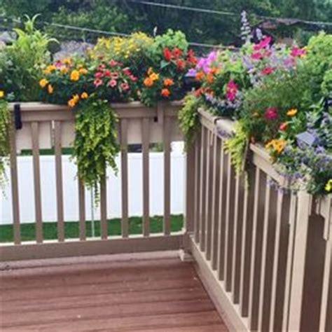 Deck Railing Planter Hooks by 25 Best Ideas About Deck Railing Planters On