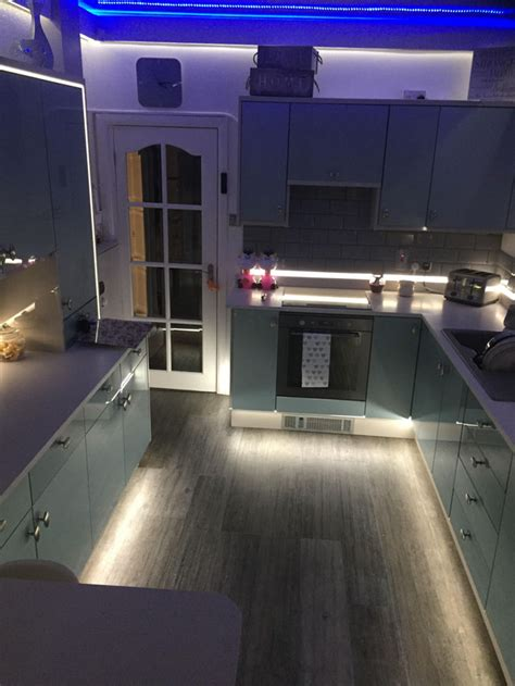 choose leds for plinth kickboard skirting board feature