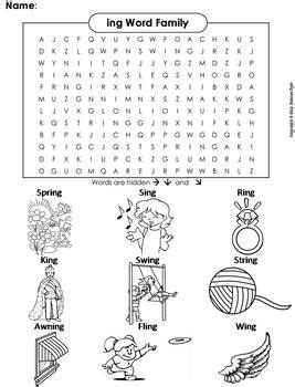 ideas  spring word search  pinterest