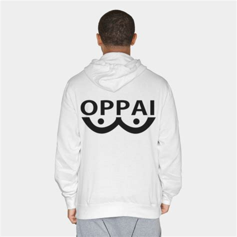 Hoodie Oppai 4 Wisata Fashion Shop 1 oppai pullover hoodie by kronoshop design by humans