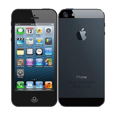 apple iphone 5 16gb black at t smartphone
