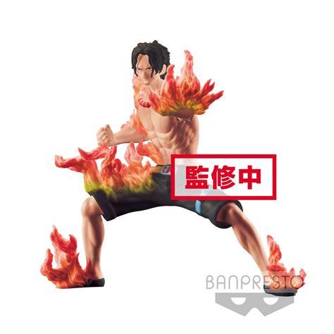 Banpresto One Monogatari Portgas D Ace Misb Ori Figure one abiliators figure portgas ace banpresto