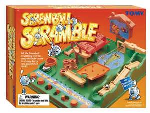 Save The Date Birthday Cards Screwball Scramble Game Tomy Sale