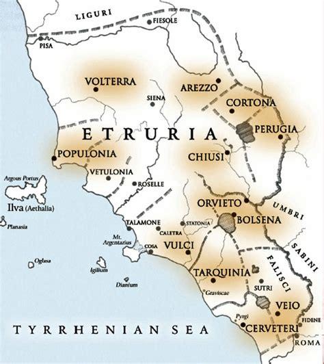 etruria roma etruria romana e preromana parte seconda tuttatoscana
