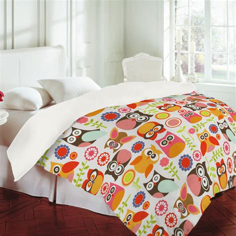 owl twin bedding little owls duvet cover twin by deny designs fab com