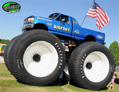 Bigfoot 5 187 International Monster Truck Museum Hall Of Fame