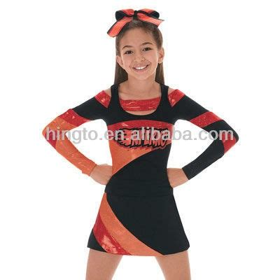 toddler dance cheer uniform 2016hot sale special design girls cheerleading uniforms