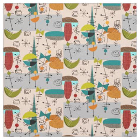 mid century upholstery mid century designs fabric zazzle
