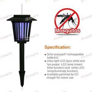 top solar power mosquito repellent outdoor mosquito killer solar led l lights ebay
