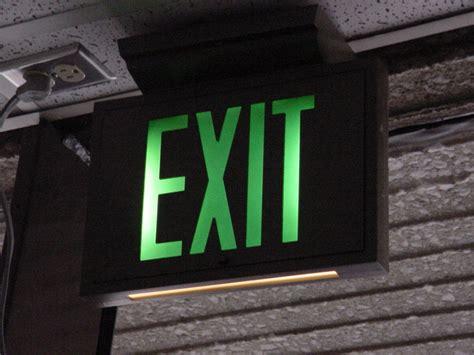 ersand light up sign self luminous exit sign