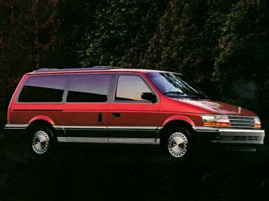 car manuals free online 1992 plymouth grand voyager user handbook 1992 plymouth grand voyager specs safety rating mpg carsdirect