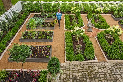 Raised Garden Bed With Trellis Garden Tour Front Yard Flavor Midwest Living
