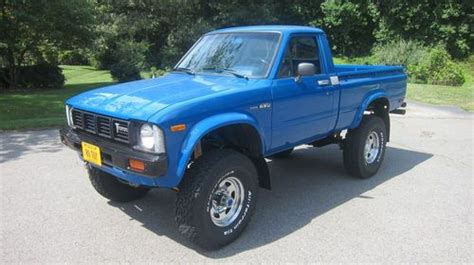 toyota light trucks for sale sell used 1980 toyota pickup 4wd 2 year frame off nut and
