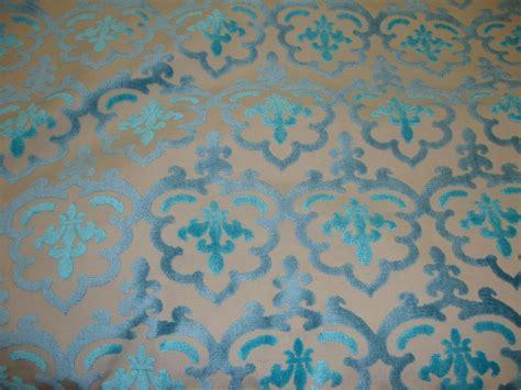 velvet drapery fabric peacock damask embossed raised velvet upholstery drapery