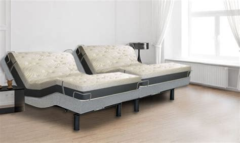 12 quot split cal king size envy mattresses reverie 5d adjustable bed bases ebay