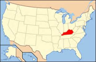 Kentucky Usa Map map of usa ky mapsof net