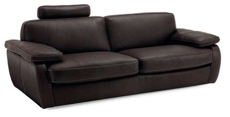 Incanto B602 Leather Sofa With Headrest Incanto Leather Sofa