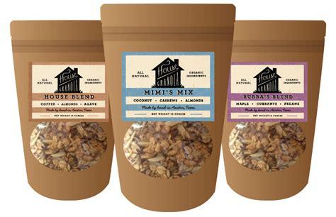 printable granola labels house granola kristen haff
