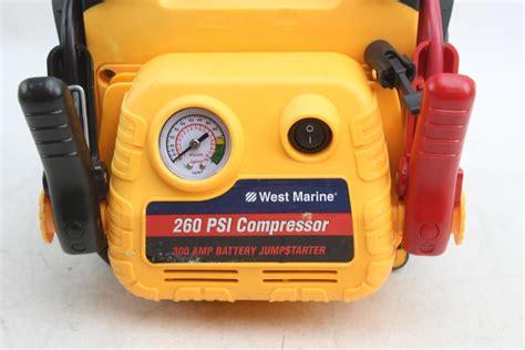 boat battery jump starter west marine 260 psi compressor 300 battery jumpstarter