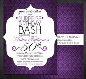 15 surprise birthday invitations free psd vector eps