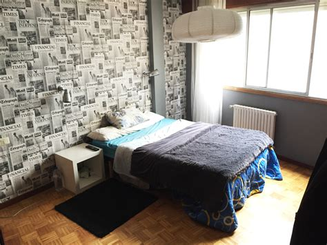 how wide is a double bed wide double bed room in vigo city centre for english